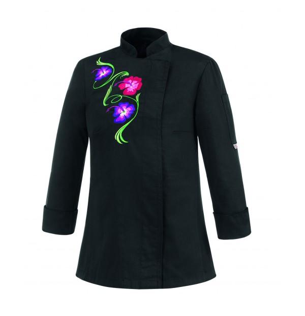 Naiste kokajakk Flowers Black