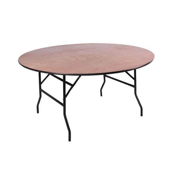 Kokkuklapitav ümmargune laud