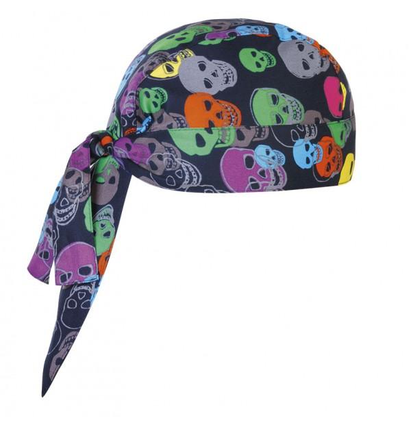 Bandana Color Skulls
